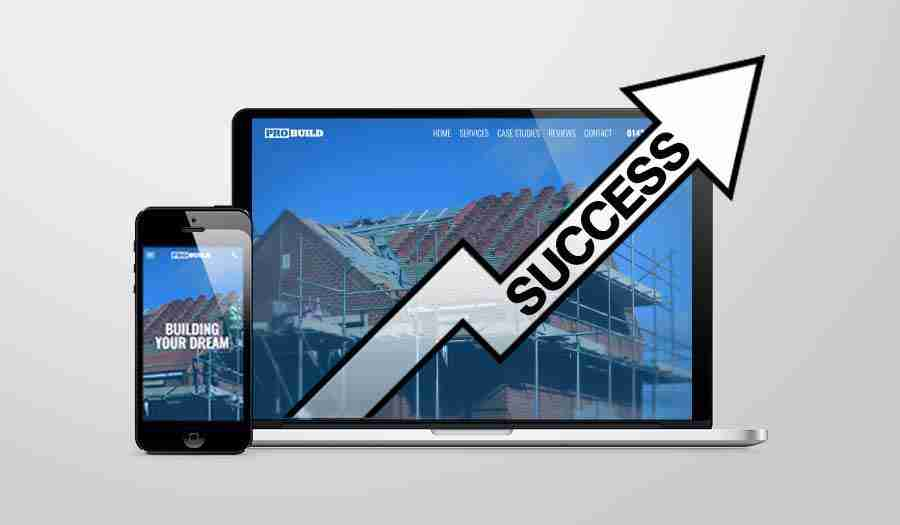 How to make a successful construction website
